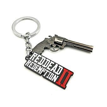 Dead Wild 2 Gun Model Pendant Keychain Key Ring