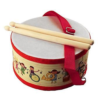 Drum Wood Kids Bebek Beat Enstrümanı için Erken Eğitici Müzik Aleti
