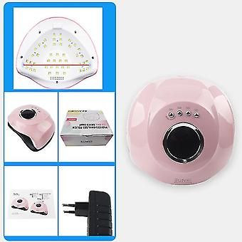 Eu plug 180w uv led nail lamp, 45 led lights phototherapy lamp gel nail dryer professional curing nail lamp az8750