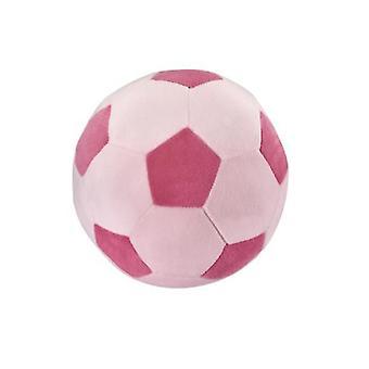 35 * 35Cm rose + blanc amusant jouets de football pour enfants adaptés aux hommes et aux femmes de tous âges az9647