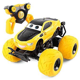 Cartoon Stunt Electric Remote Control Toy Car