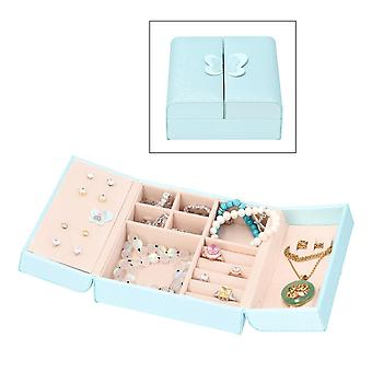 TJC Jewellery Box with 3D Butterfly Magnet Opening Size 15x15x6.5cm
