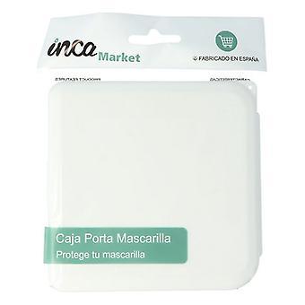 bærbar maske tilfelle markedet inca hvit