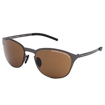 Unisex Sunglasses Porsche P8666-C Brown Black (ø 55 mm)