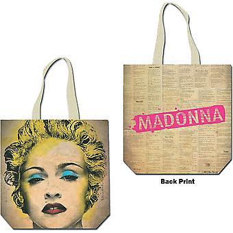 Madonna - Celebration Cotton Tote Bag