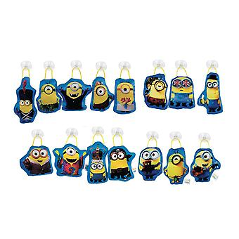Minions Window Stick On 12cm - Various Designs (One Supplied)