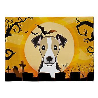 Caroline's Treasures BB1819PLMT Halloween Jack Russell Terrier Stoff Tischset, Multicolor
