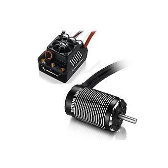 Hobbywing Combo EZRun Max6 ESC 5687-1100Kv Motor (Black) 80m