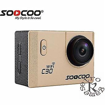 C30/C30R 4K Urheilukamera 1080P/60FPS HD(Kultainen)