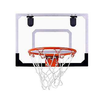 High Quality Basketball Board Box Net Set Backboard Hoop Mini Netball Children Toys