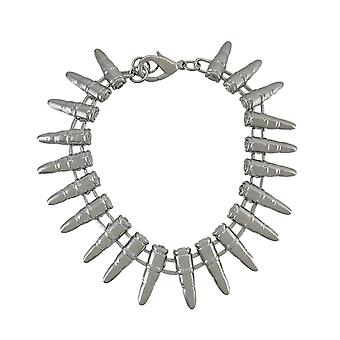 Chroom geplateerde industriële Bullet armband