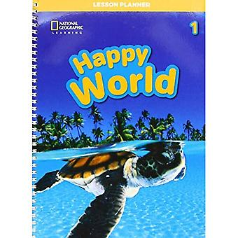 Happy World 1: Lesson Planner with Class Audio CD, DVD, and Teacher's Resource CDROM