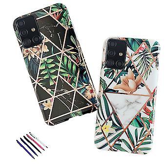 Samsung Galaxy A51 - Shell / Bescherming / Geometrisch