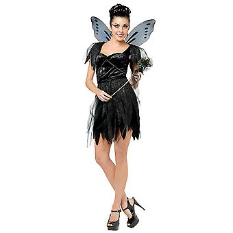 Midnight Fairy Tale Black Butterfly Women Costume