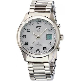 ONE (Eco Tech Time) Silver Stainless Steel EGS-11335-62M Men's Watch