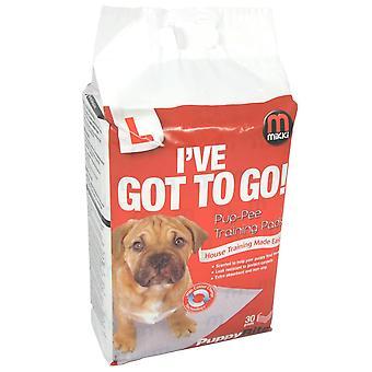 Almohadillas para cachorros 30pack