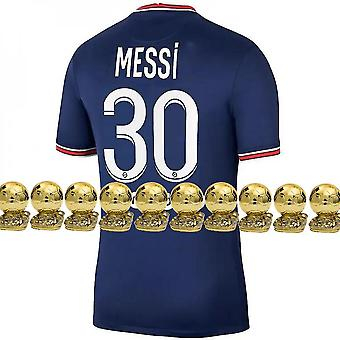 2021-2022 Messi Psg No. 30 Children Jersey(22)