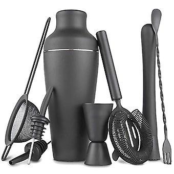 Bartender Kit Shaker Cocktail Shaker Set med rostfria barverktyg