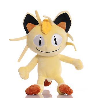 25cm Takara Tomy Pokemon Meowth Pehmolelut Nukke Meowth Pehmeä Pehmolelu Lapsille Lapsille Syntymäpäivä JouluLahjat