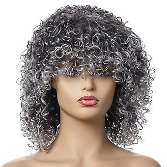 Brand Mall peruukit, pitsi peruukit, realistiset peruukit, lyhyt kiharat hiukset