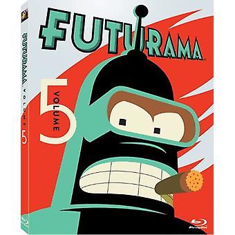 Futurama - Futurama: Vol. 5 [Blu-ray] Yhdysvallat tuoda