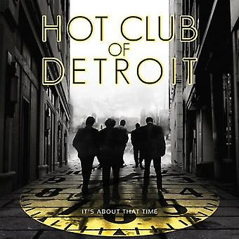 Hot Club of Detroit - It's About Time [CD] USA import