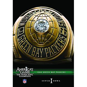 NFL America's Game: 1966 Packers (Super Bowl I) [DVD] USA import