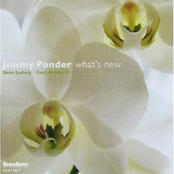 Jimmy Ponder - What's New [CD] USA import