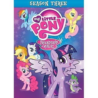 Min lille Pony vennskap er ren magi: Sesong 3 [DVD] USA import