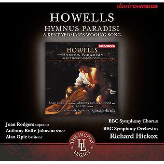 H. Howells - Herbert Howells: Hymnus Paradisi [CD] USA import