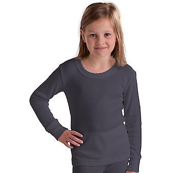 OCTAVE filles sous-vêtement thermique manches longues T-Shirt / gilet / Top