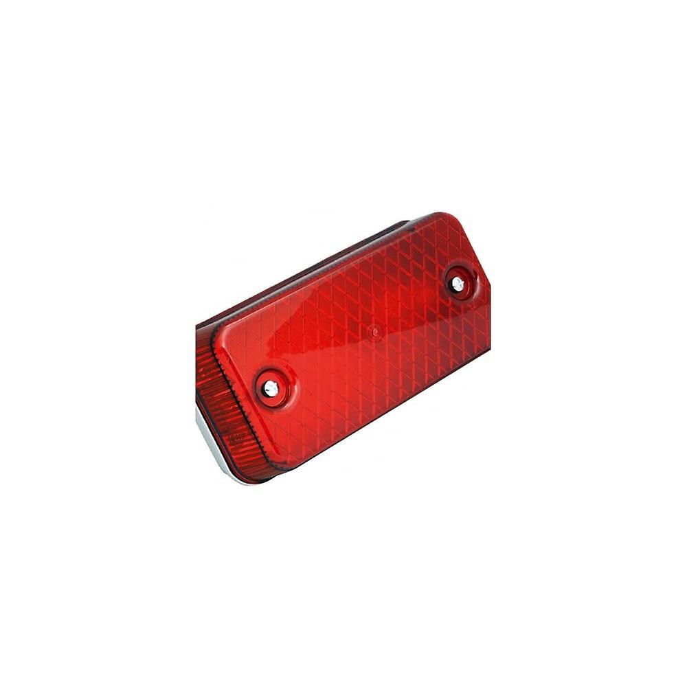 عدسة الحاجز انسيل 100W E27 الأحمر