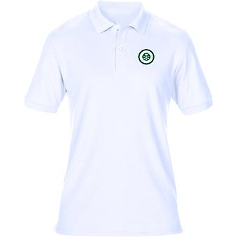 Saudische Luftwaffe Roundel Stickerei Logo - Herren Poloshirt