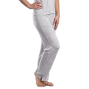 Pijama de marfim e cinza Slenderella Loungewear Pant GL08714