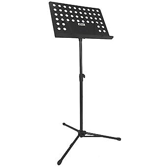 Mad About Orchestral Sheet Music Stand with Page Retainers, Height