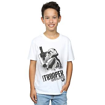 Star Wars Boys Stormtrooper Imperial Forces T-Shirt