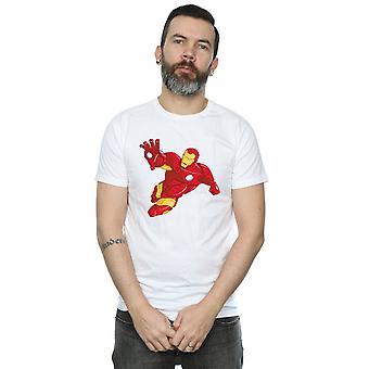 Marvel Men's Iron Man Simple T-Shirt