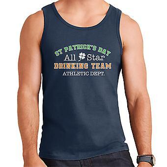 St Patricks Day Drinking Team Men's Vest