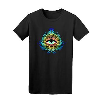 Henkinen silmä symboli graafinen t-paita - kuva: Shutterstock