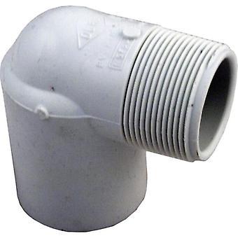 """LASCO 410-015 1.5 """"Slip x 1.5"""" MPT 90 astetta kyynärpää"""