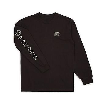 بريمو بريكستون طويلة الأكمام القميص الأسود
