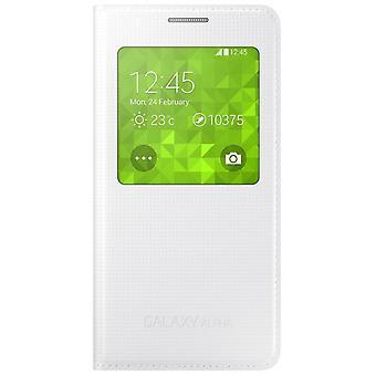 Samsung Galaxy Alpha flip S-view cover cover EF-CG850BWEG white