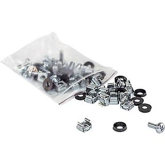 Intellinet 712194 19 inch Server rack cabinet fixings Silver