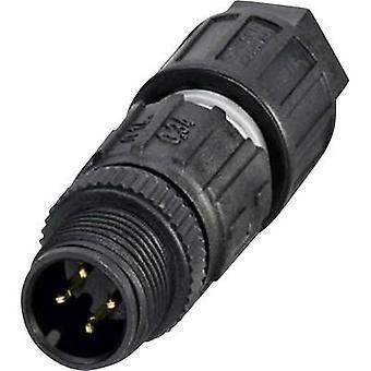 Phoenix Contact 1641714 Sensor-/ manöverdon kontakt M12 kontakt, raka No. Pins (RJ): 4 1 dator