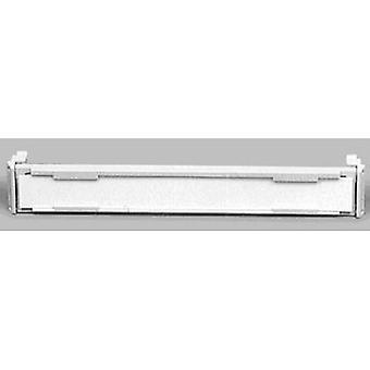 ADC Krone 6089 2 015-01 Frame Blank fold-away label holder Cream-white
