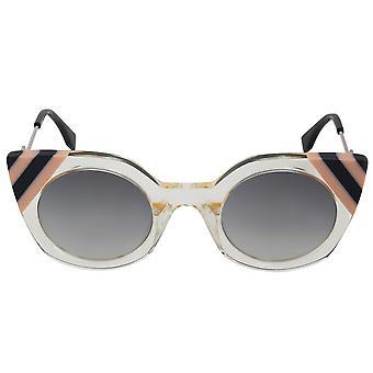 فيندي موجات فراشة FF0240S النظارات الشمسية 40G 90 47