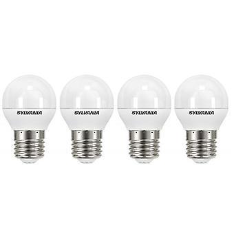4 x Sylvania ToLEDo boule E27 V4 5.5W Homelight LED 470lm [classe énergétique A +]