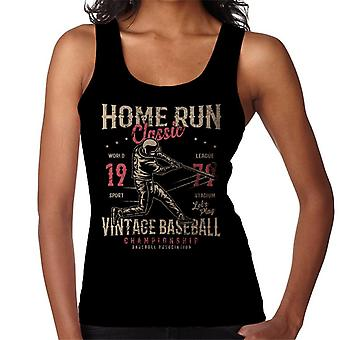 Home Run Vintage Baseball Championship Women's Vest