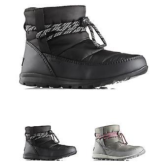 Womens Sorel Whitney Short Nylon Winter Waterproof Fleece Ankle Boots