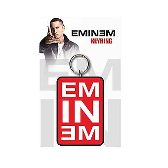 Eminem Keyring Keychain Logo Slim Shady kamikaze Official New Rubber